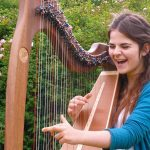 Support for a Young Harpist with Cerebral Palsy